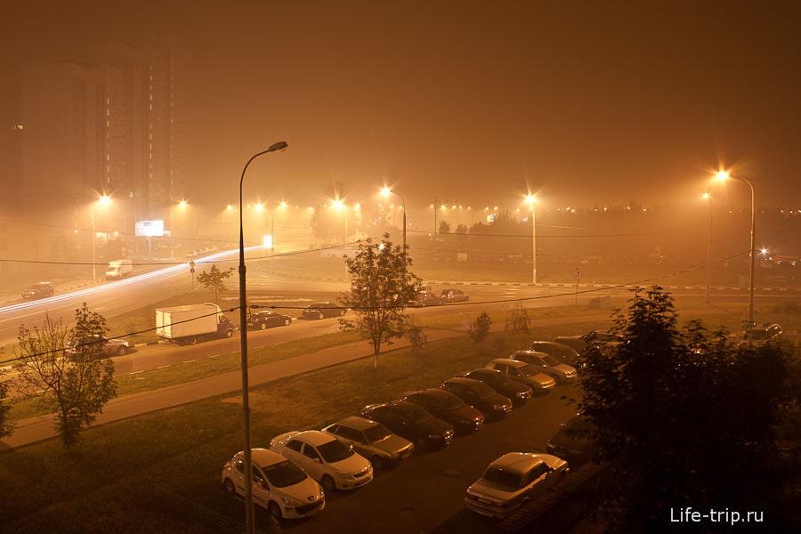 Дымное лето 2010 года