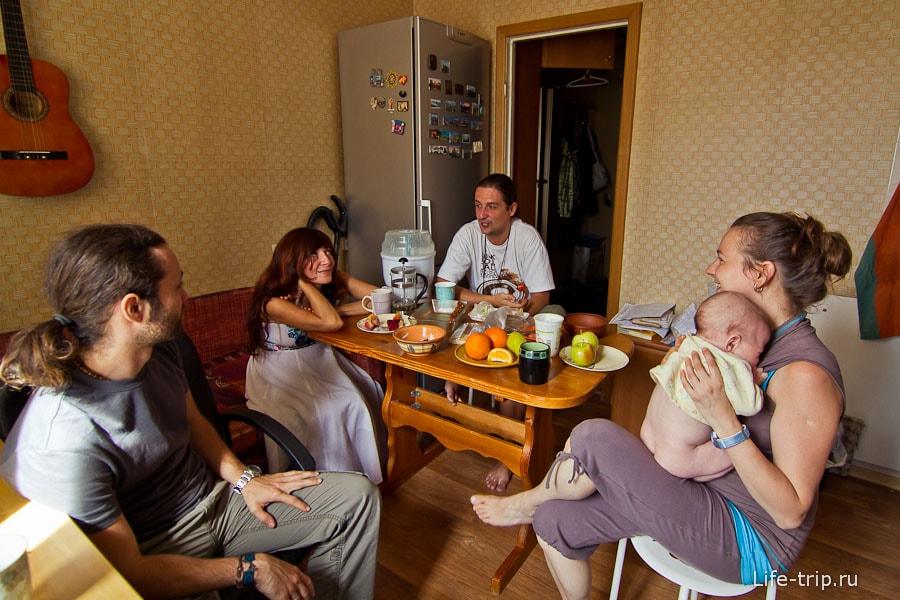 Встреча с блоггерами у нас дома