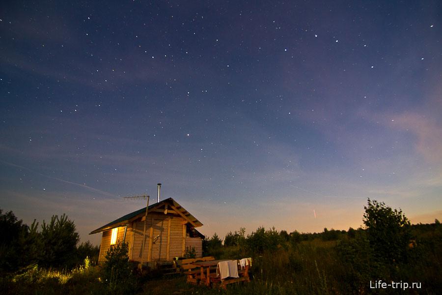 Мои пробы съемки ночного неба