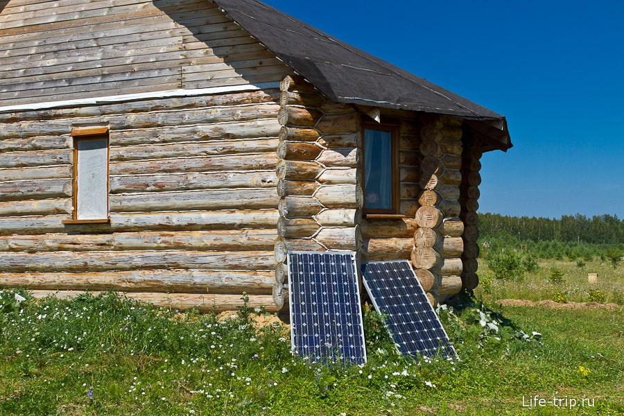Солнечных батарей летом хватает для всех нужд