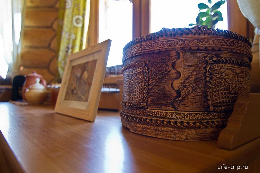 Элементы декора в русском стиле