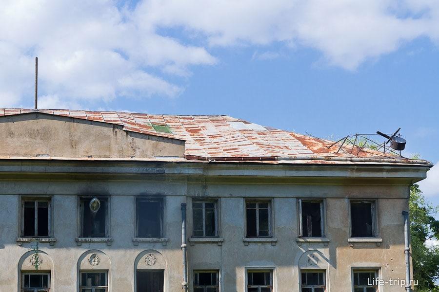 Крыша уже прогнулась