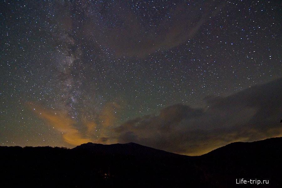 Звездное небо Крыма