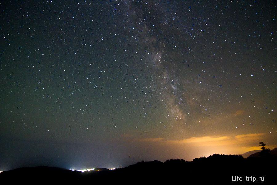 И снова звездное небо Крыма