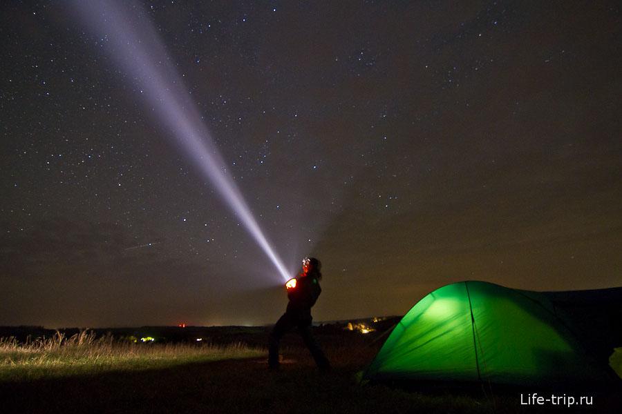 Красивая Меча, Тульская область. ISO1600, 11mm, f2.8, 30sec