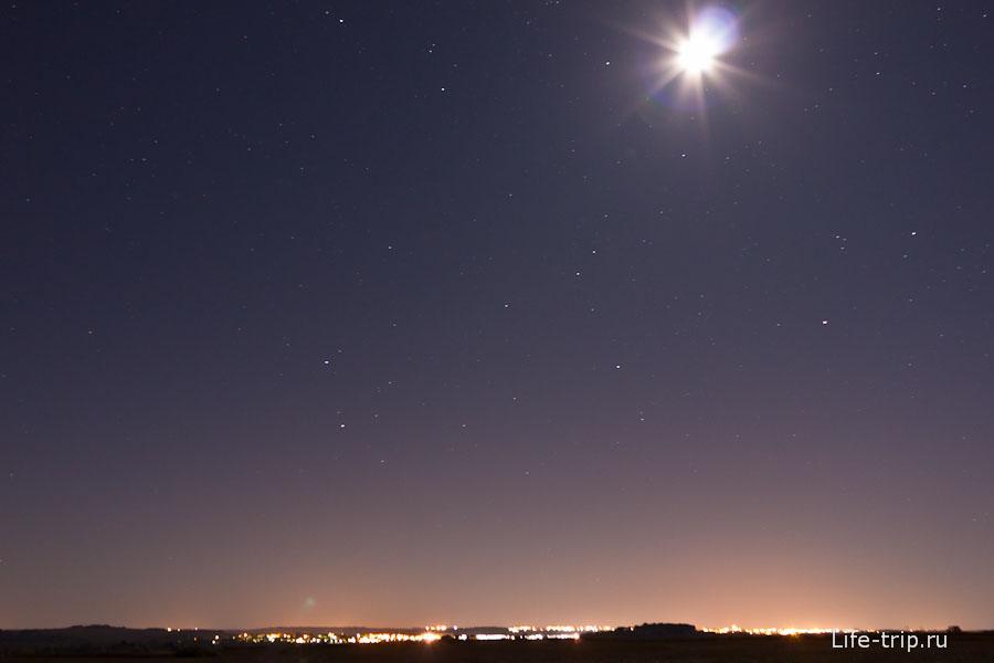 Первая моя фотография звездного неба, Франция. ISO800, 18mm, f5.0, 30sec