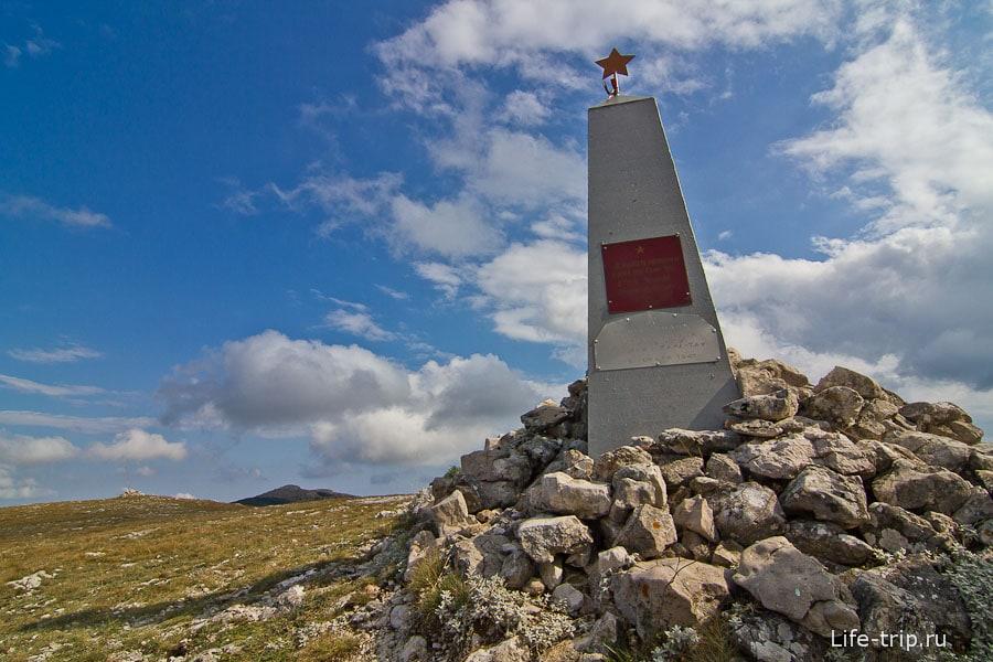 Памятник погибшим в Отечественной войне