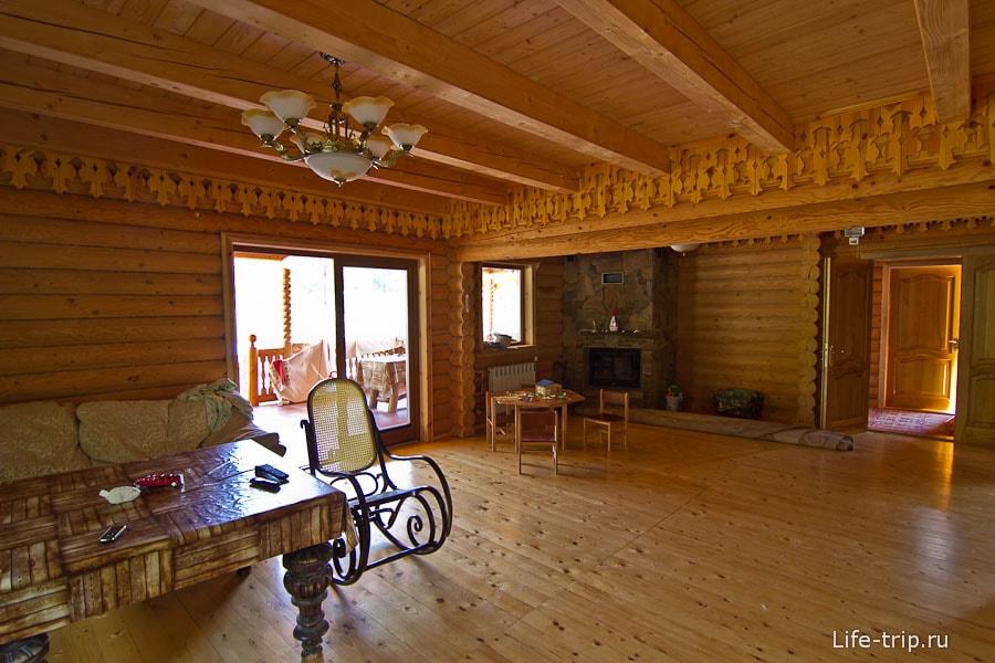 Люблю деревянные дома, так уютно