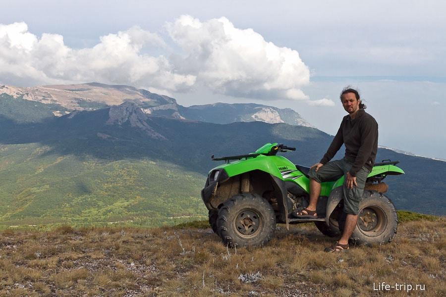 Небольшая фотосессия на плато Чатыр Даг