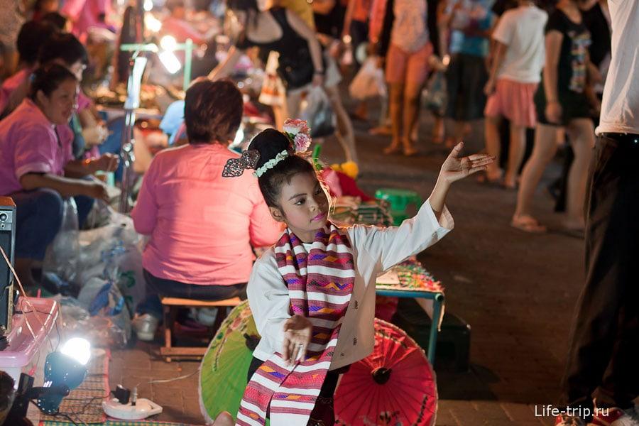 Ночной рынок в Чианг Май