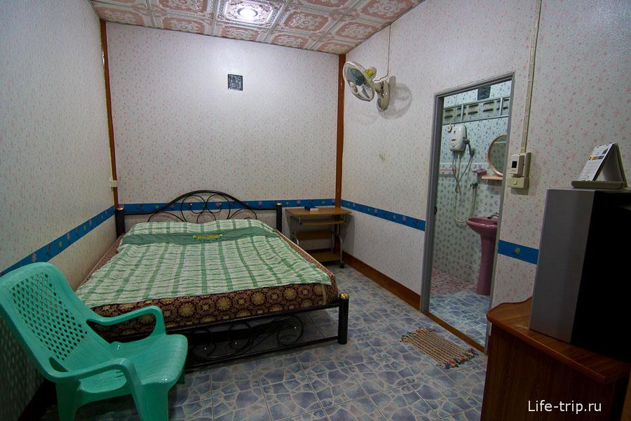 Комната за 300 бат с вентилятором