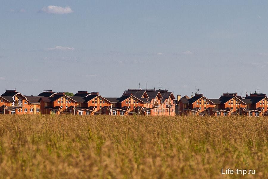 Вокруг Бутово коттеджные поселки