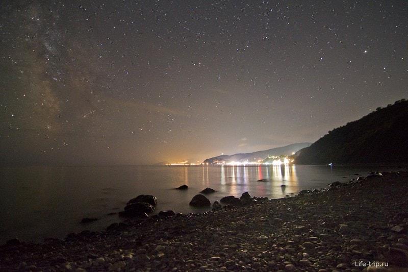 Звезды над морем