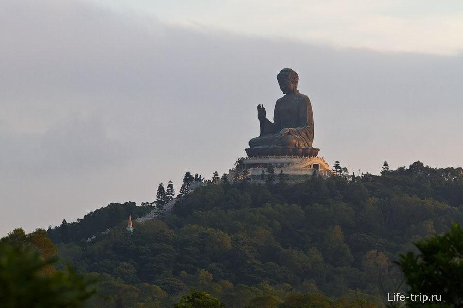 Биг Будда на острове Лантау