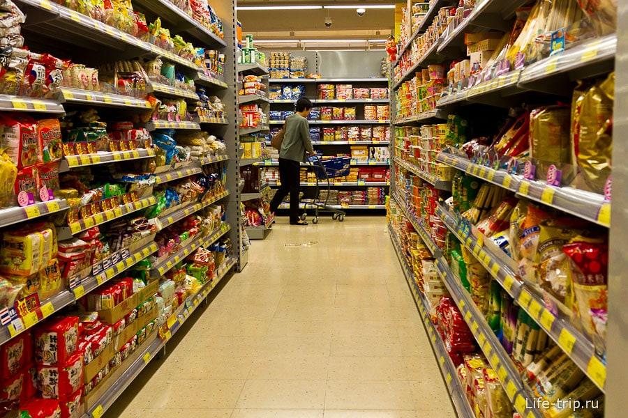 Супермаркеты обычные, похожи на все остальные в мире