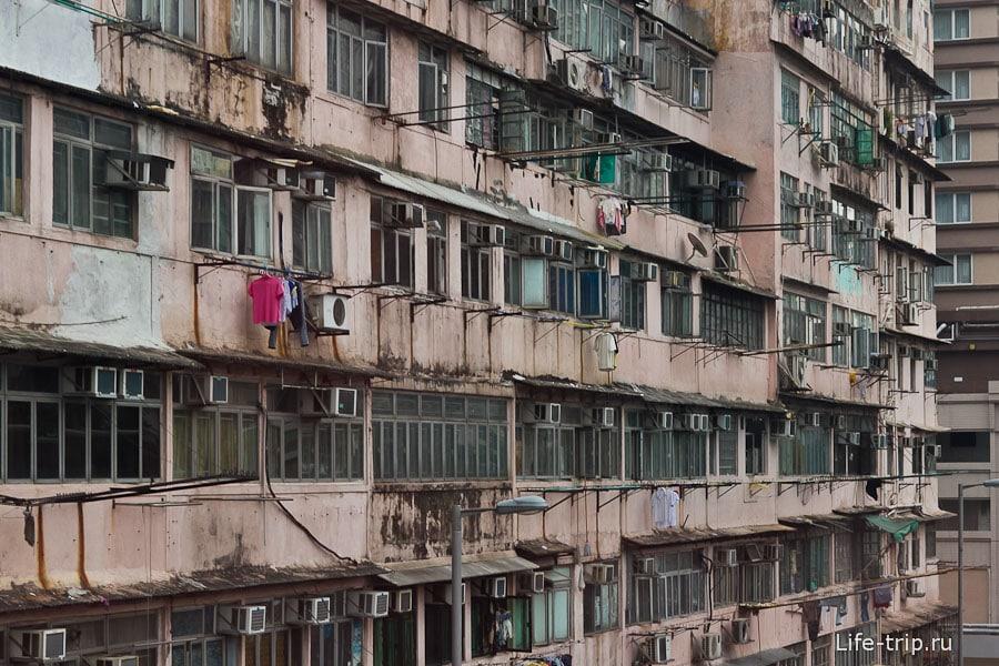 Старые и не эстетичные многоэтажки