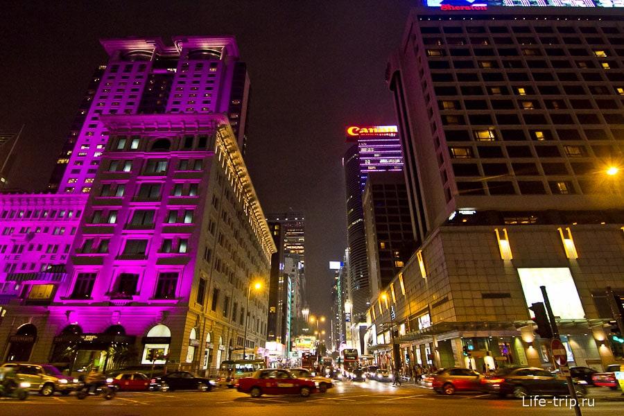 Самая главная улица в Гонконге - Nathan Road