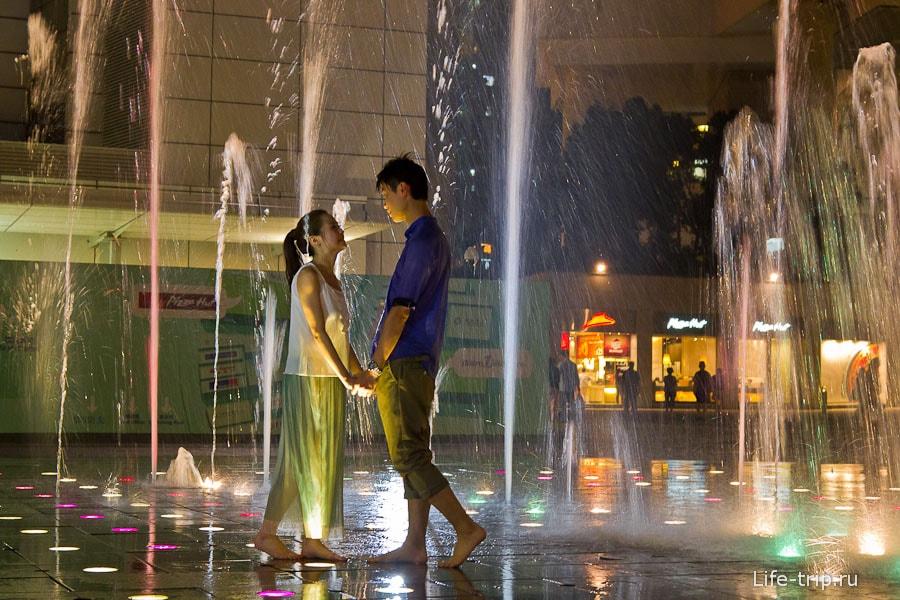 Мокрая Love Story по-гонконгски