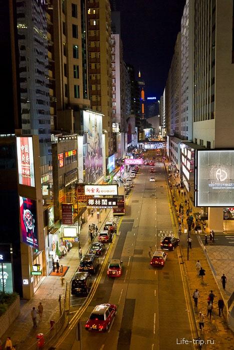 Улицы Гонконга
