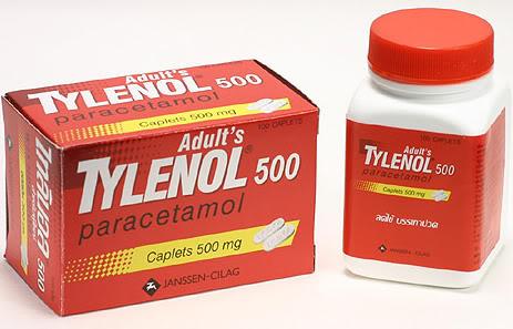 Tylenol - жаропонижающее и обезболивающее