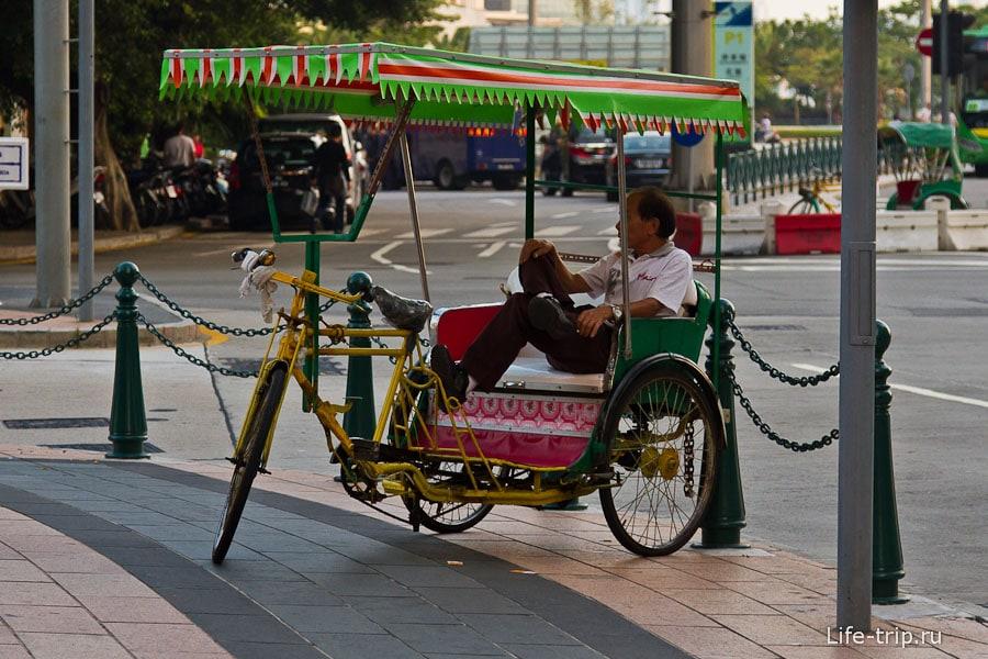 Велорикшу, не желаете ли?