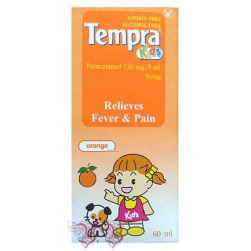Детское жаропонижающее с парацетамолом в виде сиропа
