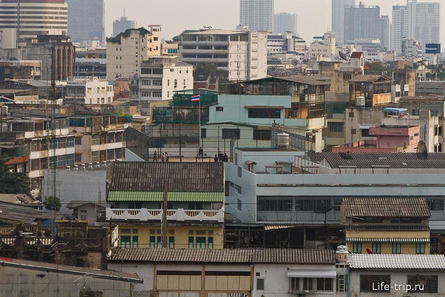 Бангкокские крыши
