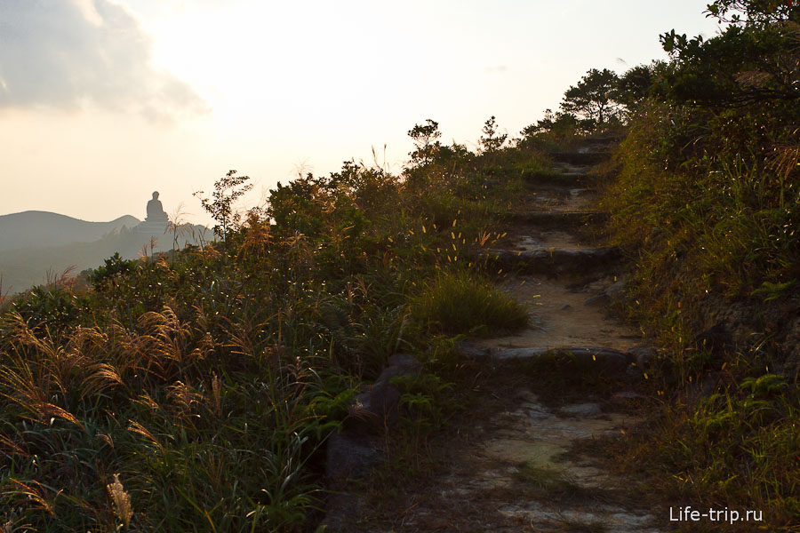 Lantau Trail - идем вокруг Нгонг Пинг