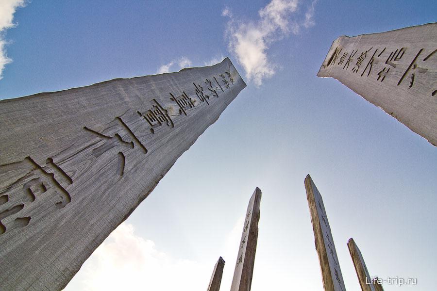 10-ти метровые деревянные столбы