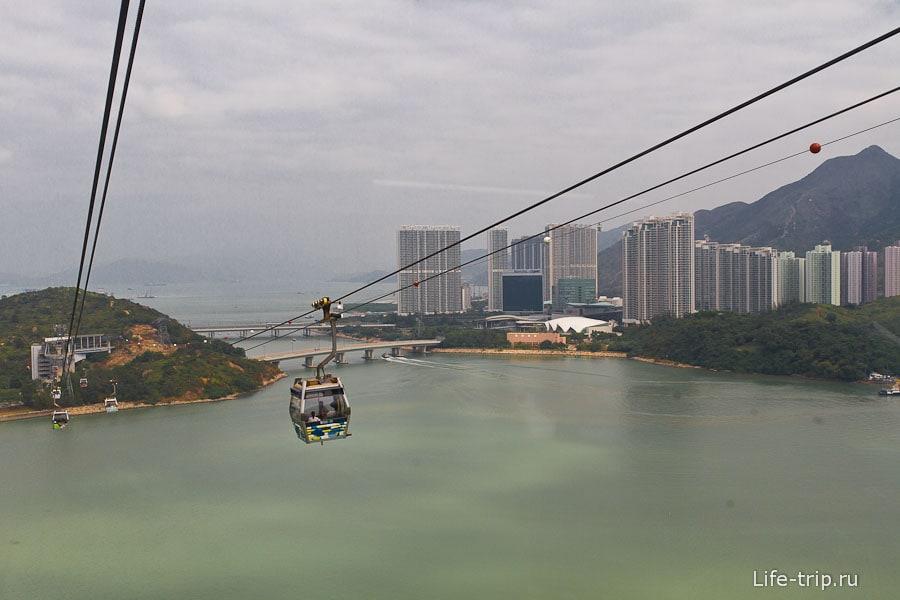 Из окна виды на Гонконг