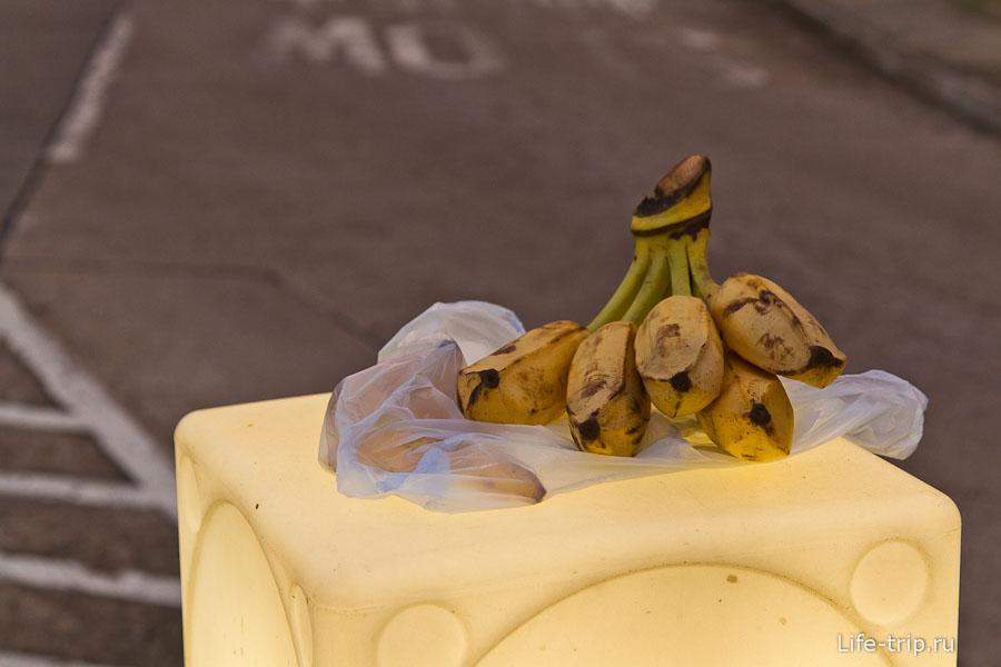 Тут я попробовал самые вкусные в жизни бананы - по вкусу смесь банана и киви