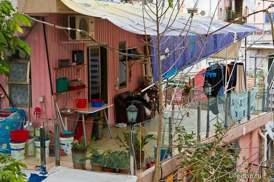 Деревушка Pok Fu Village на юге острова Гонконг