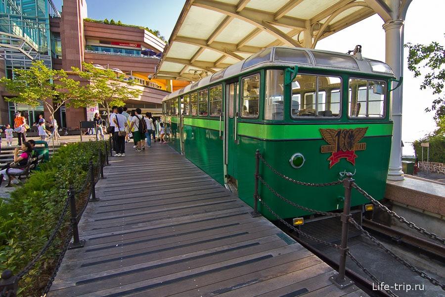 Вот он горный трамвай, старая версия