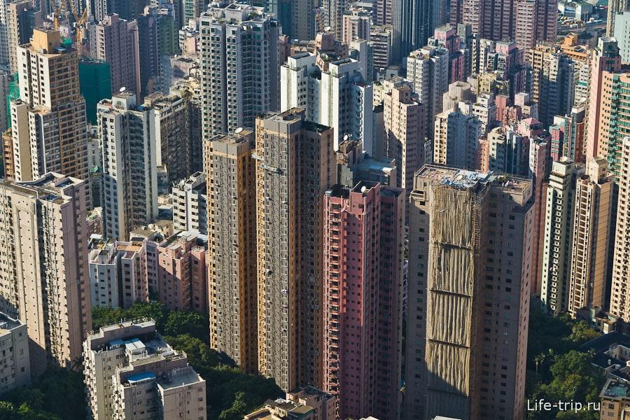 Гонконг с высоты пика Виктории