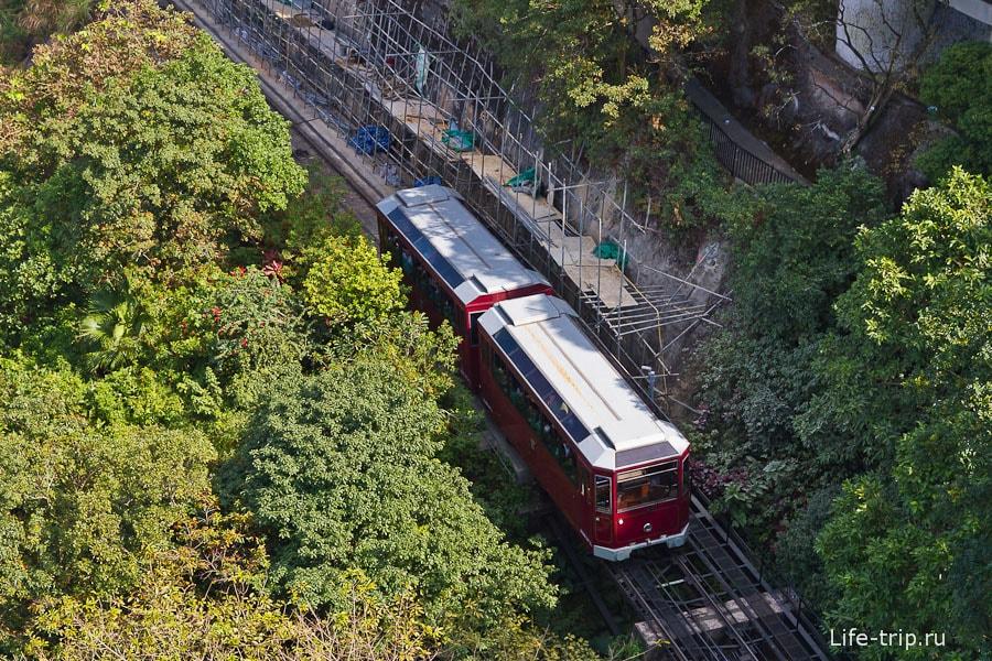 Горный трамвай - Peak Tram