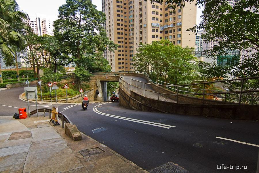Горные кварталы Гонконга