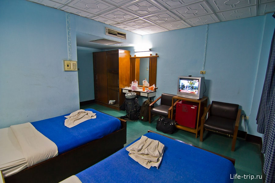 Видавший виды номер Watchala Hotel