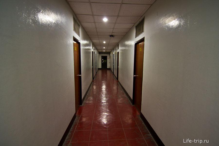 Видавшие виды коридоры