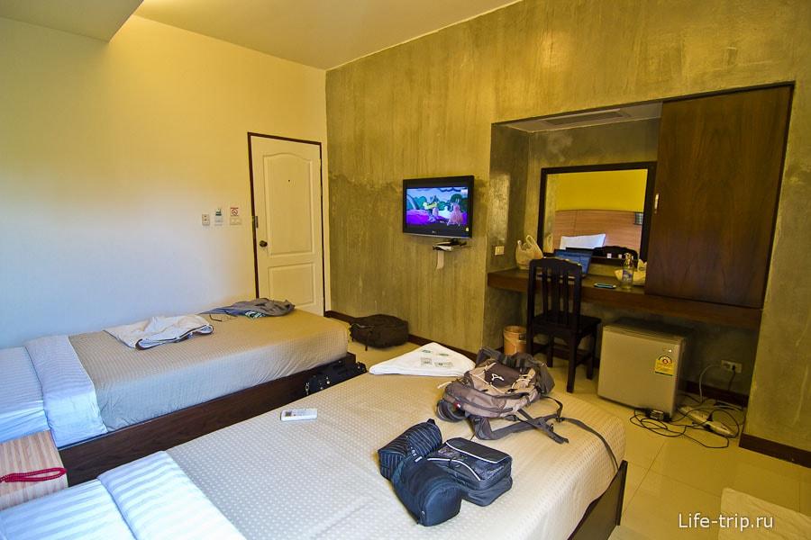 Очень милые комнаты в этом отеле