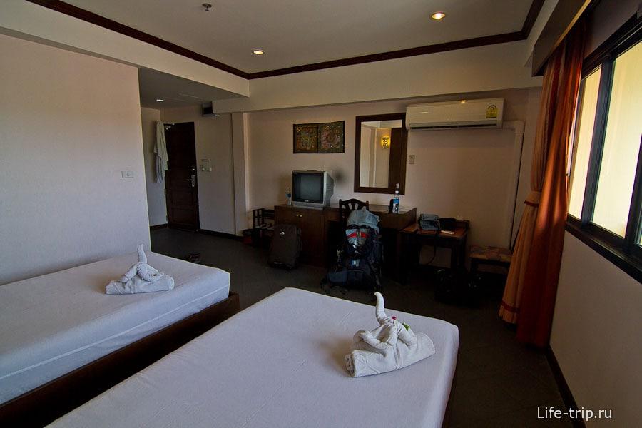 Номер в отеле Хуа Хина за 600 бат