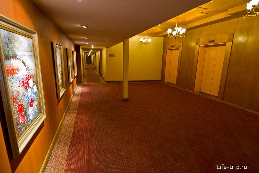 Типичный такой отель, ни разу не гестхаус