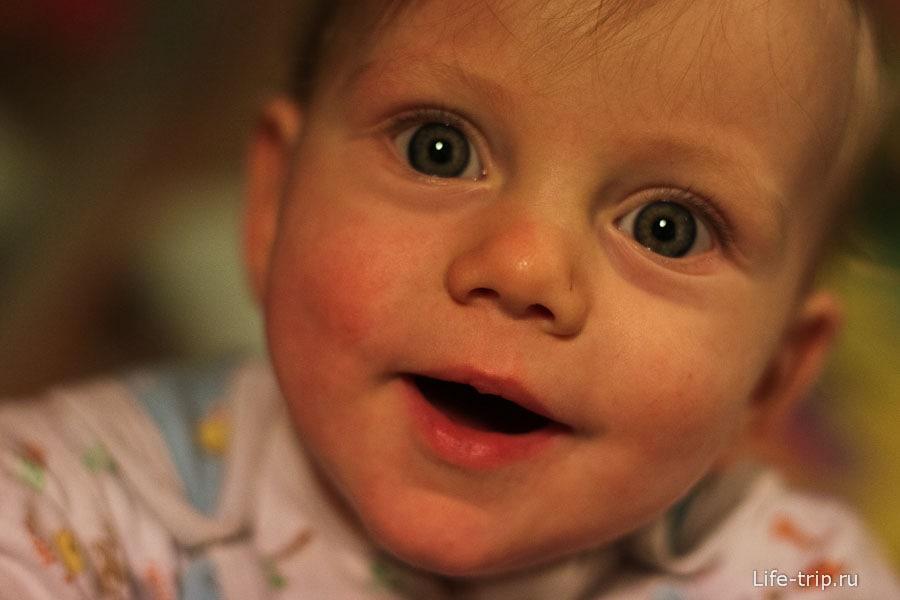 Безумно сложный 2012 год скрашивали улыбки Егора