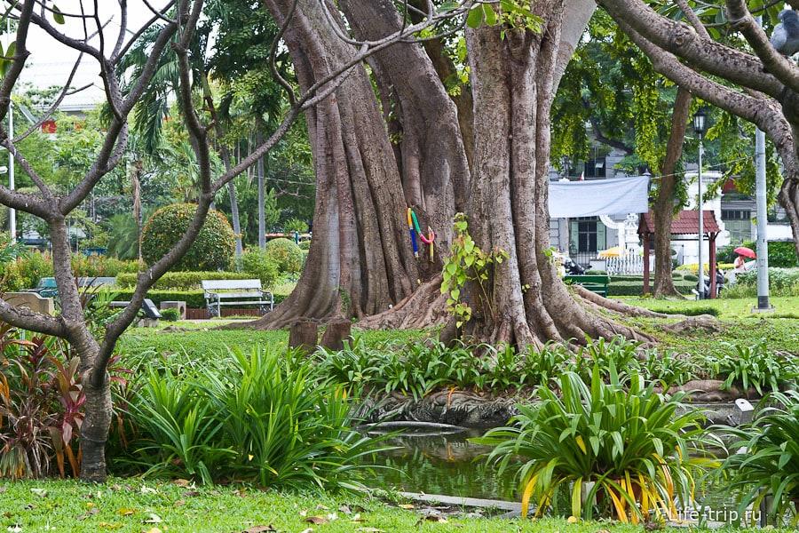 Парк Saranrom в Бангкоке