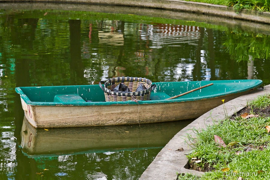 Лодка для сбора не пойми чего