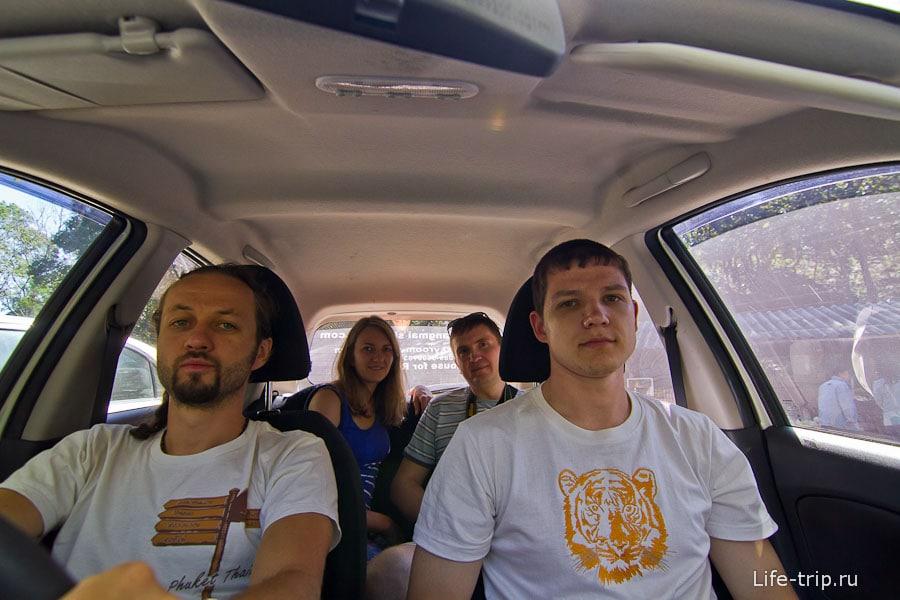 Взяли в аренду машину и едем в национальный парк Doi Inthanon