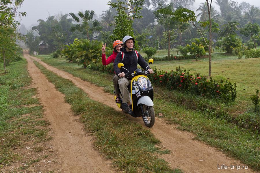 Учимся водить байки в Таиланде