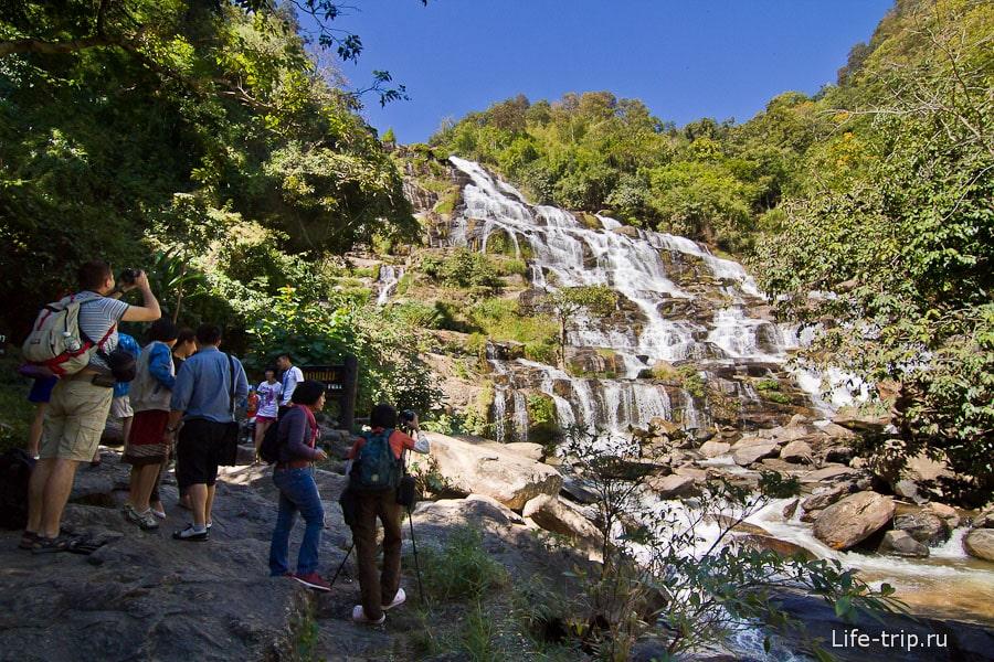 Самый высокий водопад Таиланда