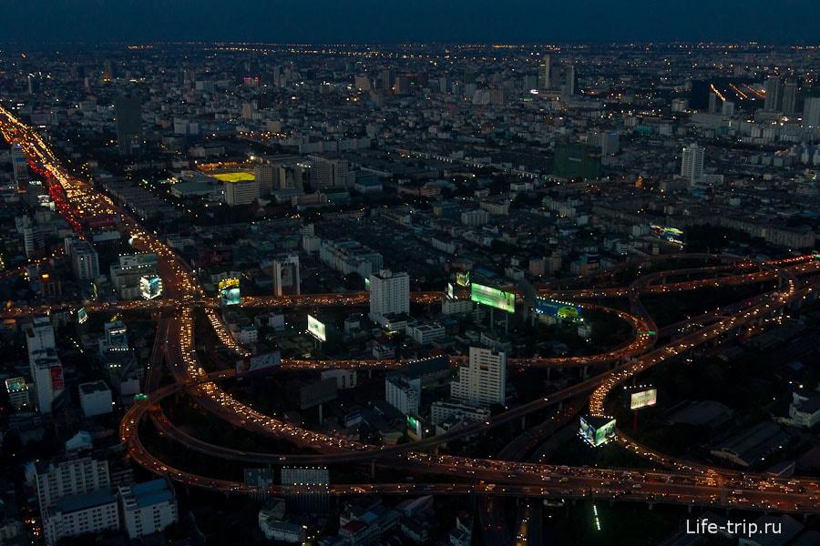 Ночной вид на Бангкок