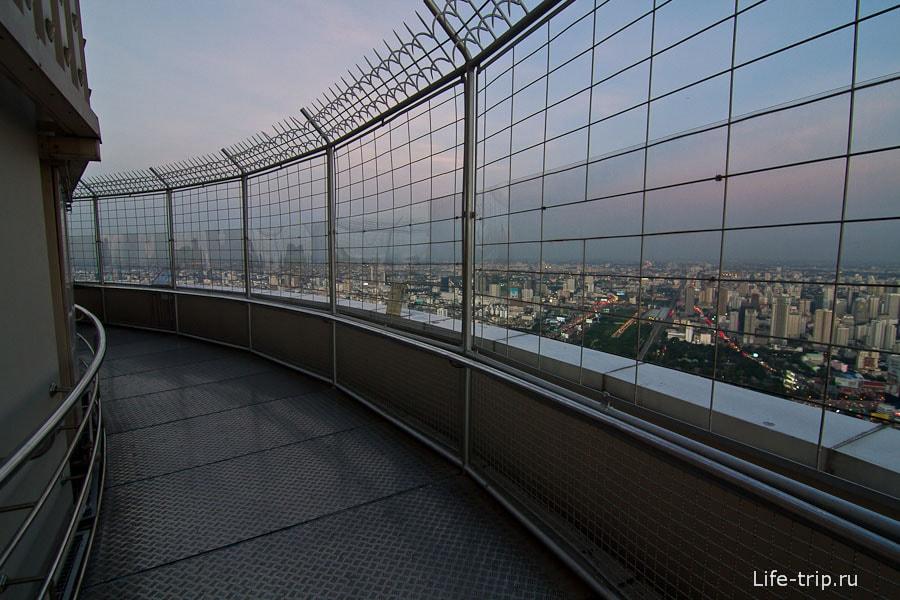 Вращающаяся смотровая площадка 84-го этажа