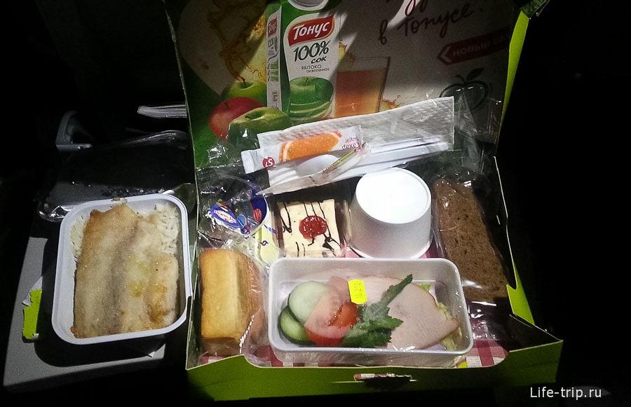 Еда на втором сегменте так себе, на рейсе Бангкок-Новосиб была гораздо лучше